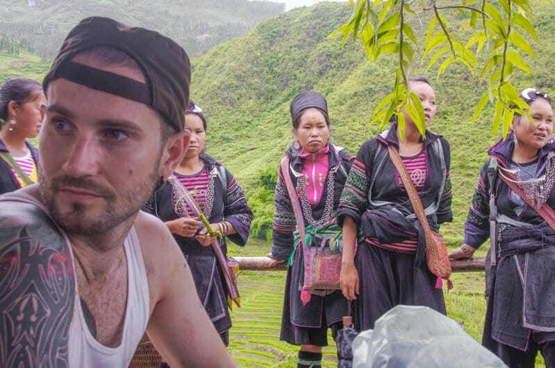 Sapa Valley Hmong Tribeswomen in Vietnam
