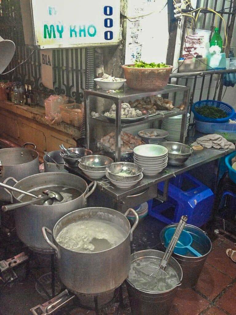 Street Food Hanoi Kitchen I First Time Visitor Tips- Hanoi & Halong Bay
