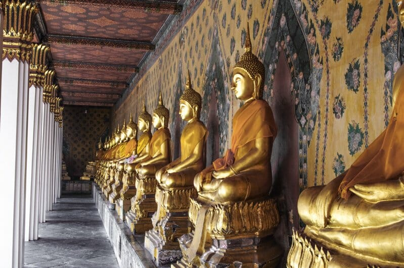 Temple of Reclining Buddha   Things to do in Bangkok, Thailand