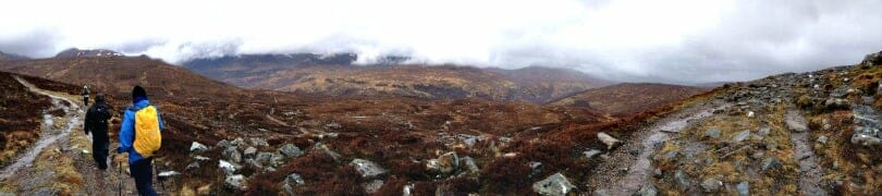 Devils Staircase Kinlockleven West Highland Way