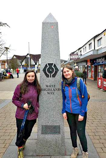 The West Highland Way Milngavie Start