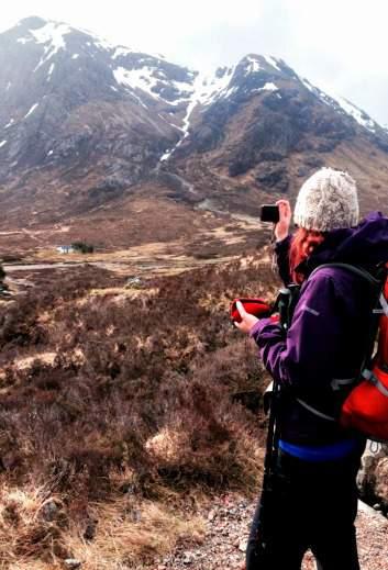 West Highland Way Kinlochleven Devils Staircase
