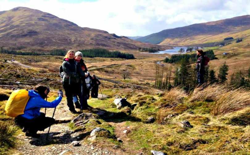 West Highland Way Scotland Kinlochleven to Fort William