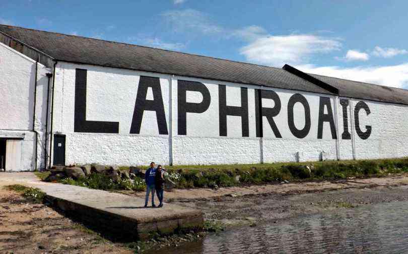 Laphroig Islay Whisky Scotland