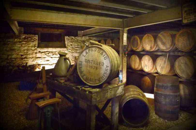Laphroig Whisky Islay Scotland