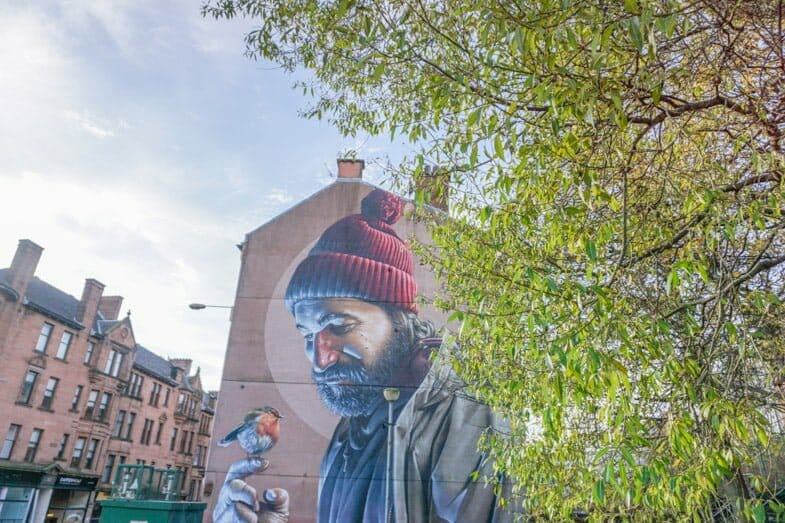 St Mungo Glasgow Street Art