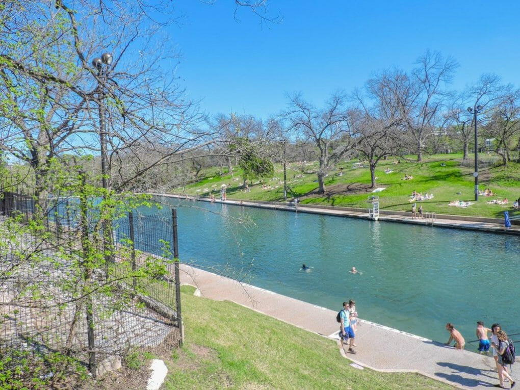 Barton Springs Austin   Ten Cool Things to do in Awesome Austin