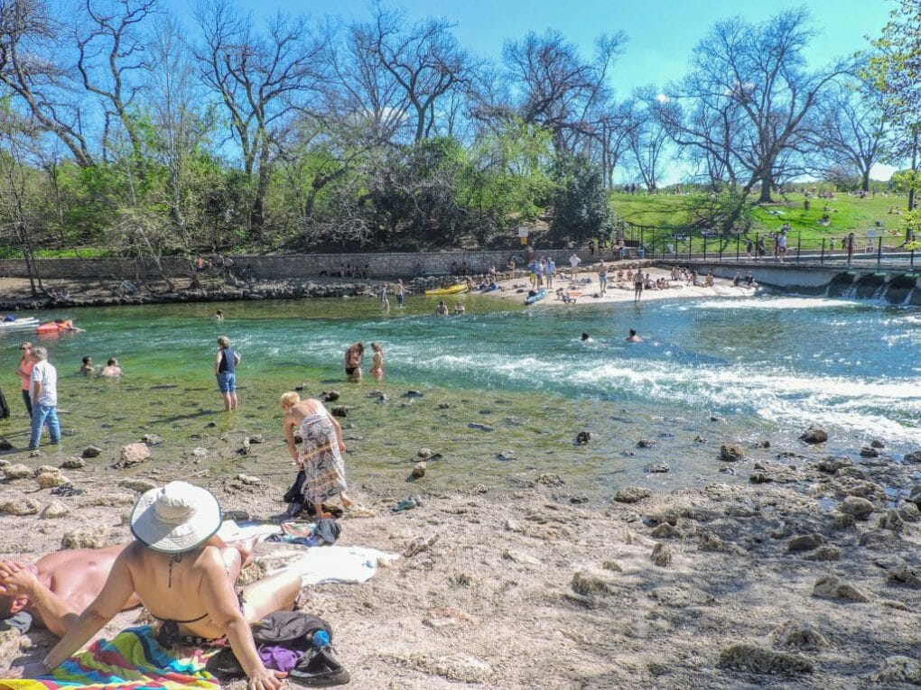 Barton Springs | Ten Cool Things to do in Awesome Austin