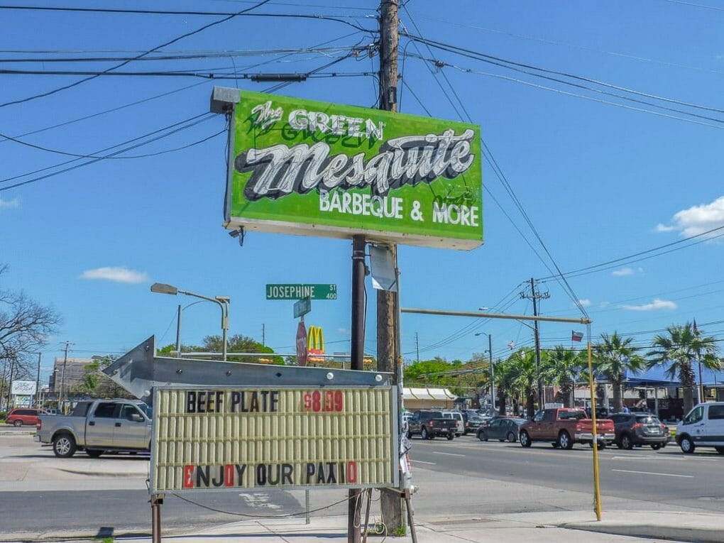 Green Mesquite BBQ | Ten Cool Things to do in Awesome Austin