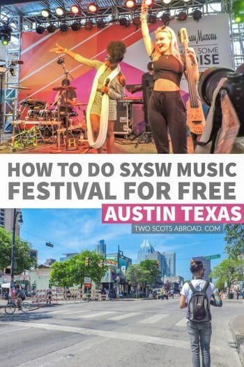 How to do SXSW for free