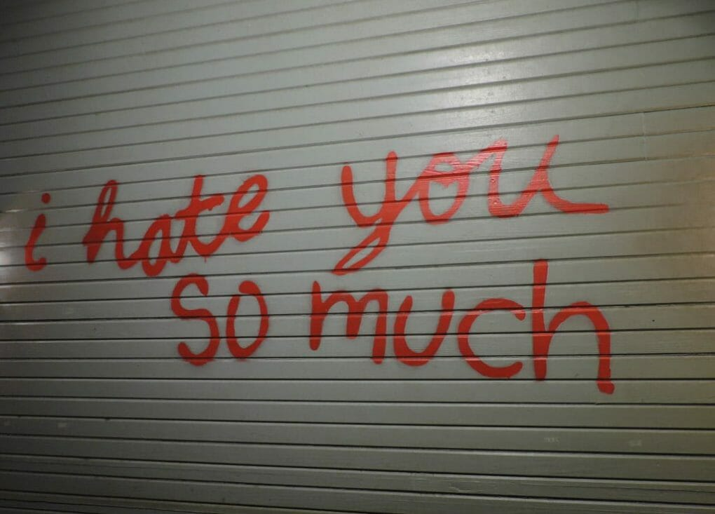 I Hate You So Much Wall | Ten Cool Things to do in Awesome Austin