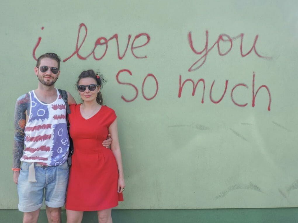I Love You So Much Wall   Ten Cool Things to do in Awesome Austin