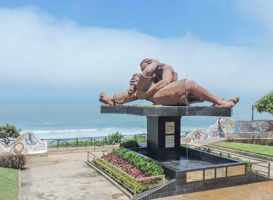 Lovers Park Miraflores Lima