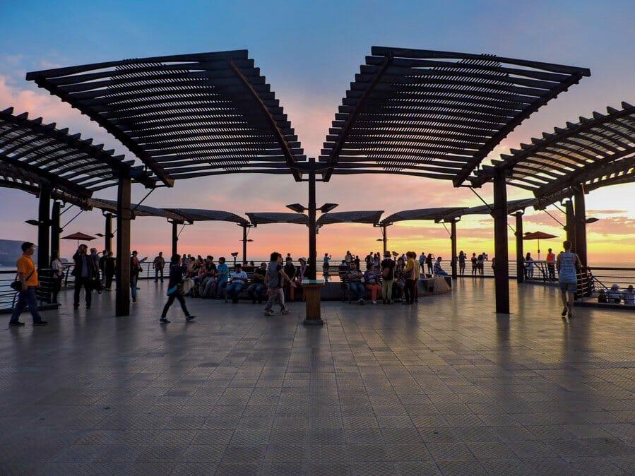 Miraflores Lima Sunset Larcomar