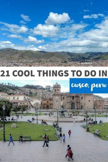 21 Things to do in Cusco Peru