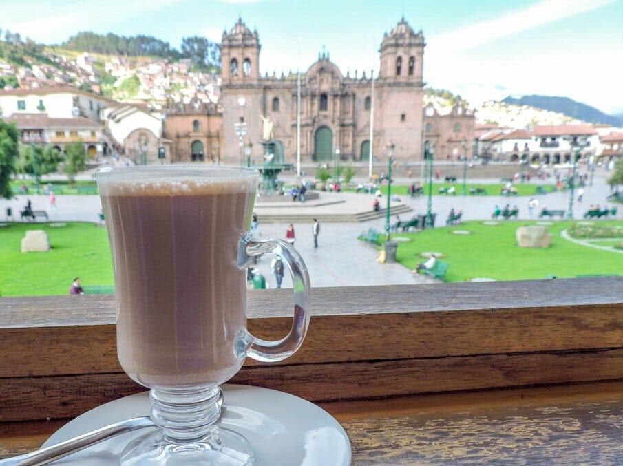 Hot Chocolate in Cusco