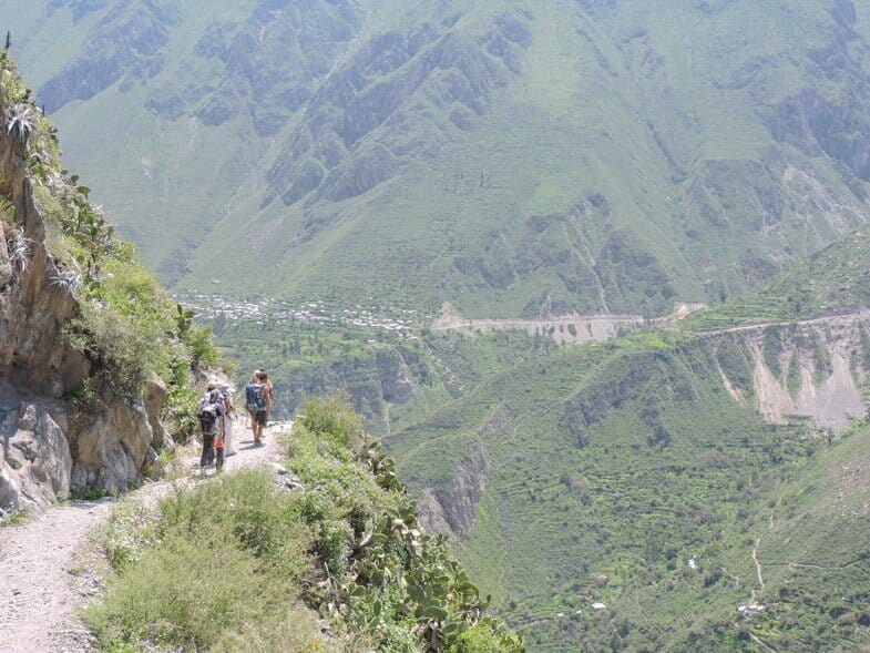Colca Canyon Peru   Hikes from Arequipa