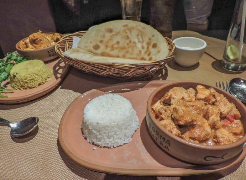 Indian restaurant in Cusco