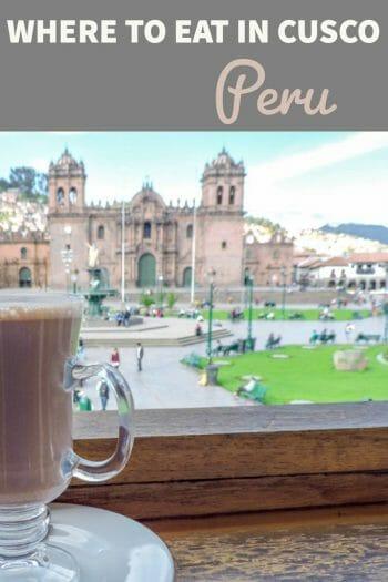 Restaurants in Cusco Peru