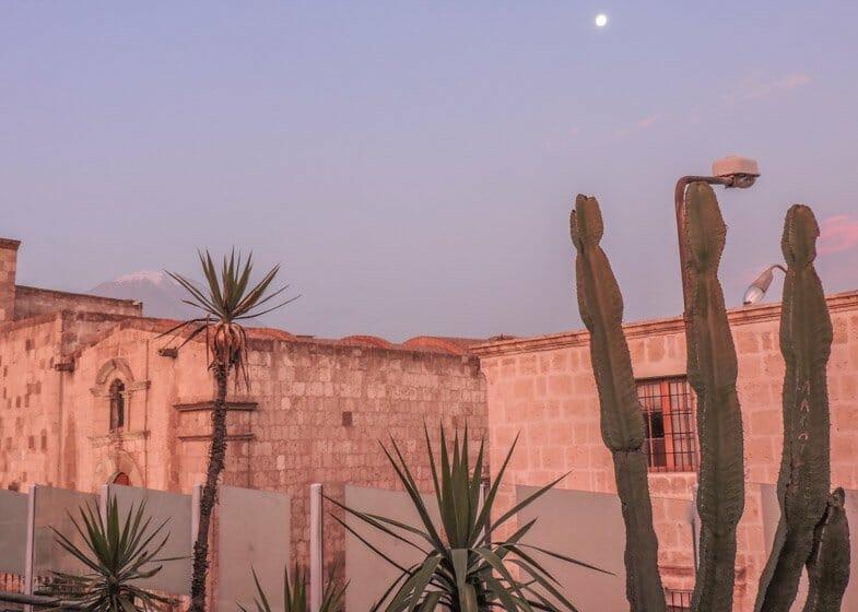 Sunset in Arequipa
