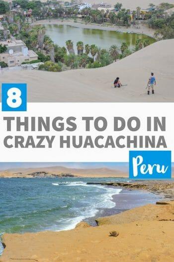 Things to do in Huacachina Peru