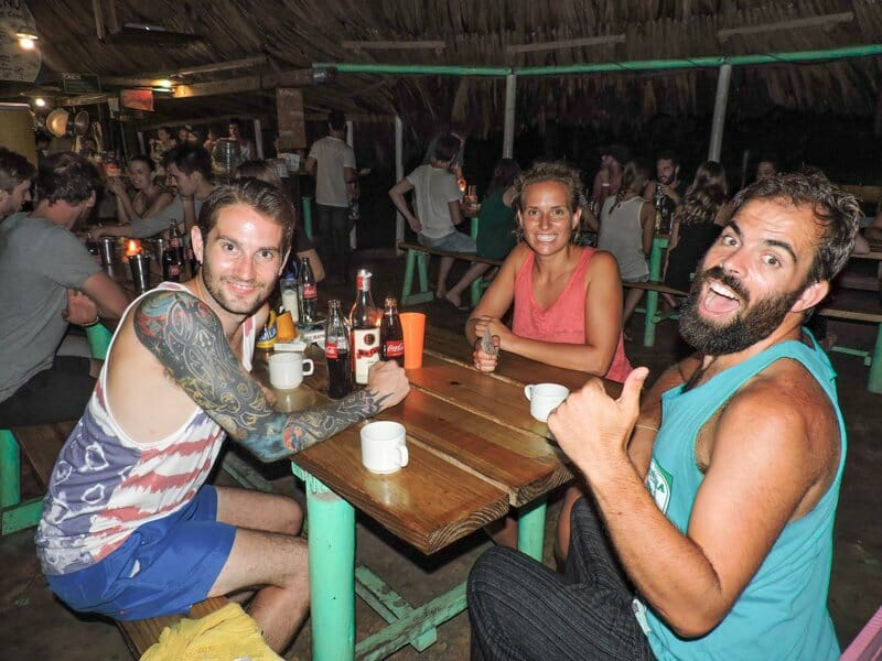Party   Costeno Beach Surf Camp Ecolodge, Colombia