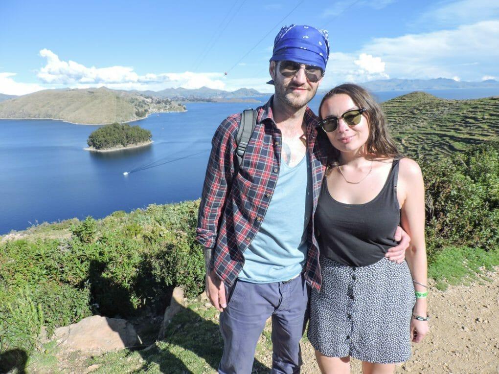Craig and Gemma Isla del Sol Bolivia_