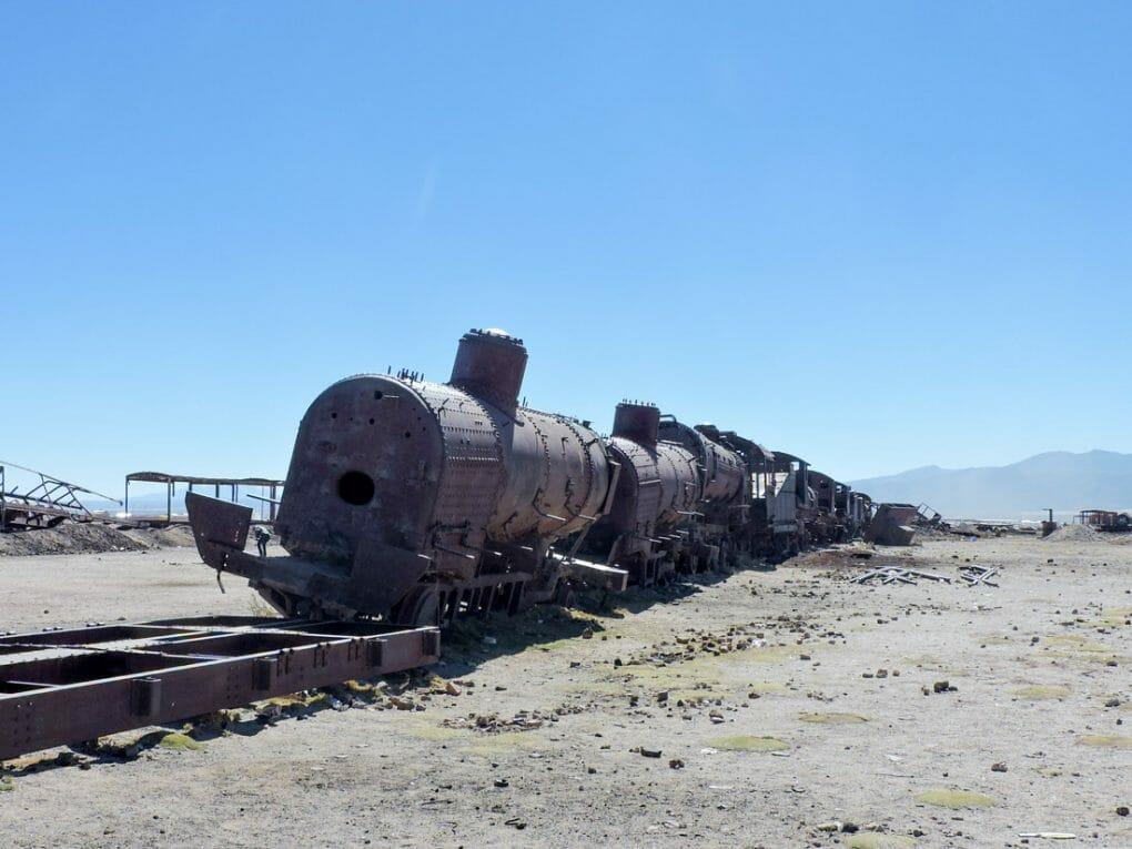 Great Train Graveyard Uyuni