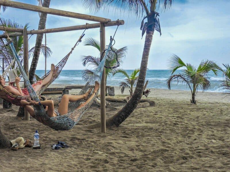 Hammocks   Costeno Beach Surf Camp Ecolodge, Colombia