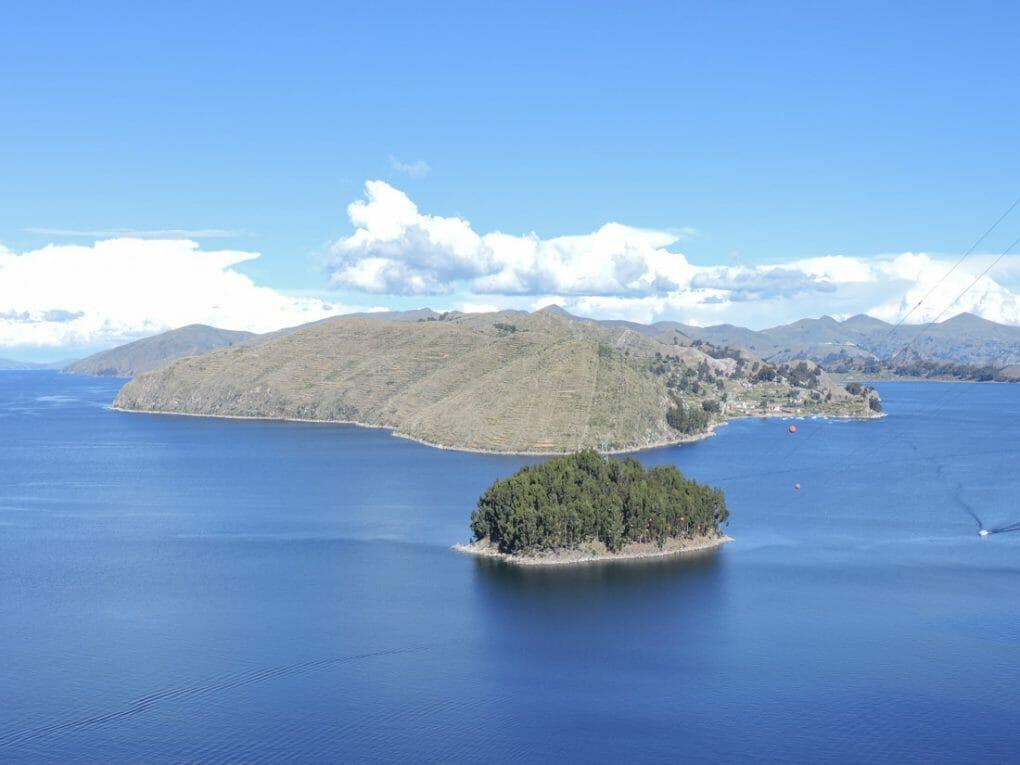 Isla del Sol in Bolivia_
