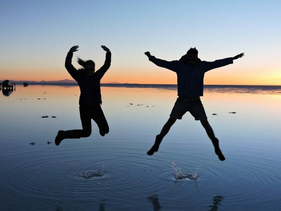 Salar de Uyuni, Sunset Shots, Salt Flats,_