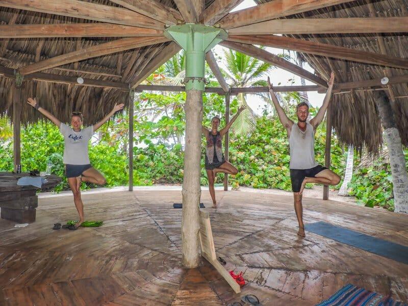 Yoga   Hammocks   Costeno Beach Surf Camp Ecolodge, Colombia