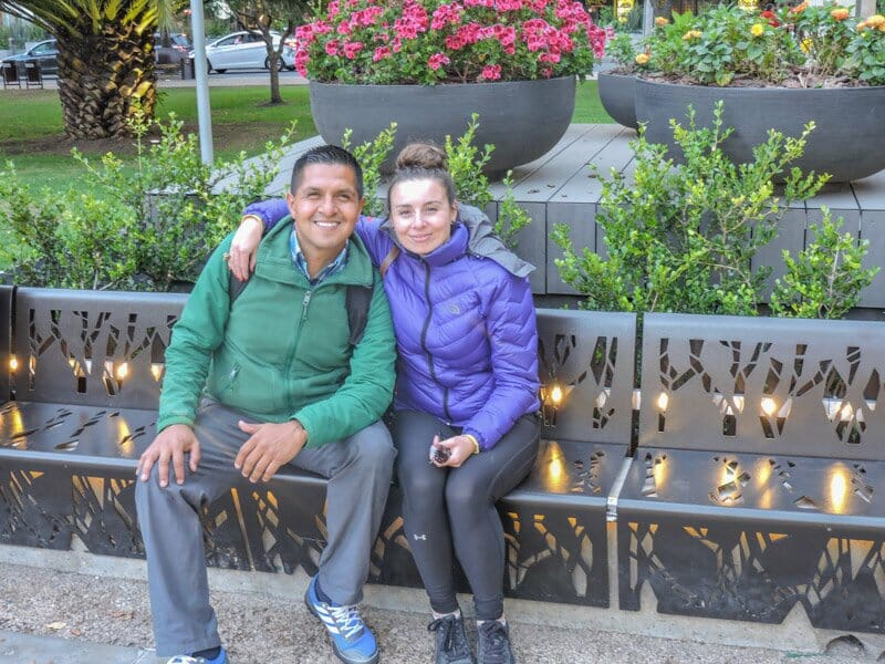 Ricardo, Colombia friend - La Candelaria v Chapinero, Bogota