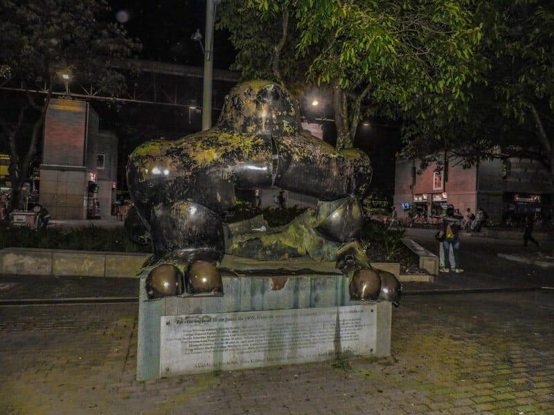 Fernando Botero - Bird   Medellin Itinerary