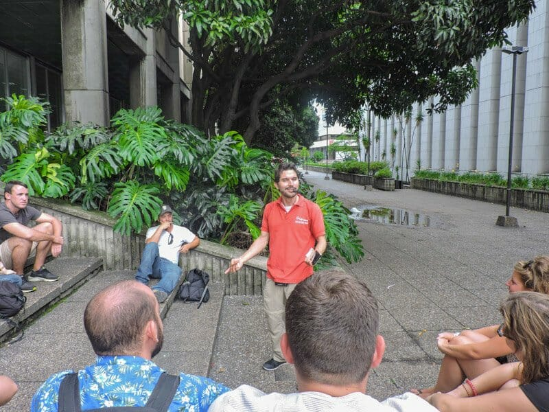 Pablo and the Real City Walking Tour   Medellin Itinerary