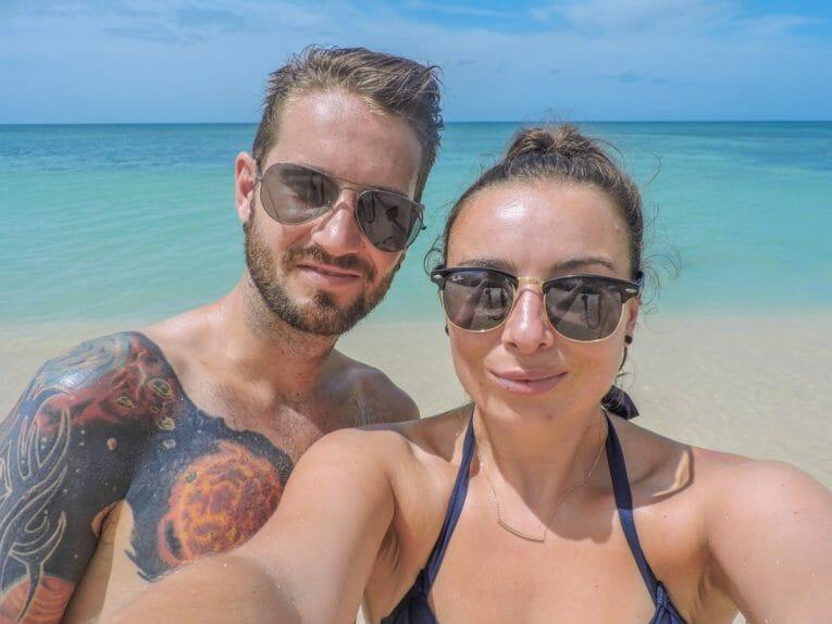 Playa Ancon near Trinidad Cuba