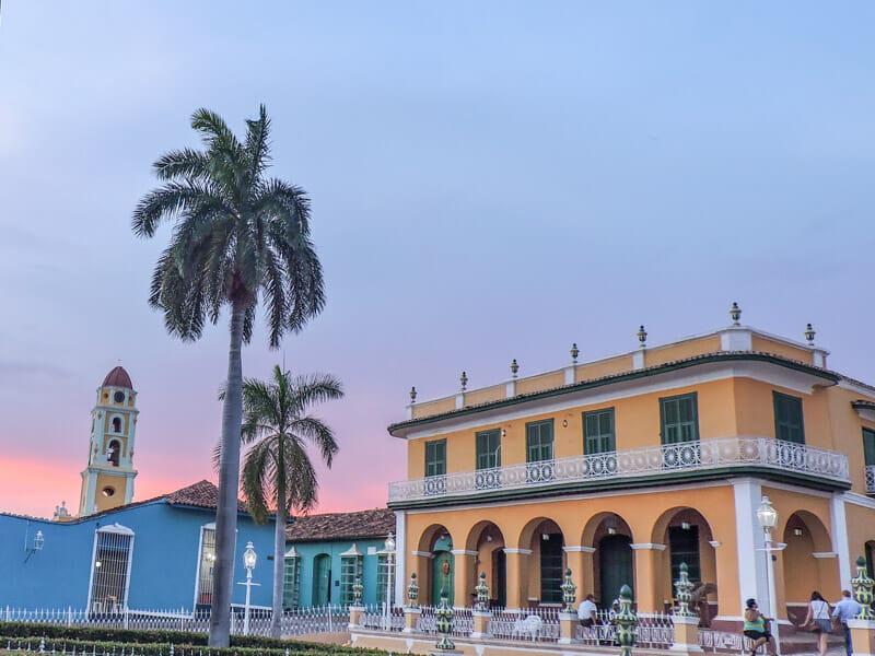 Trinidad Cuba Sunset Brunet Palace Palacio Brunet