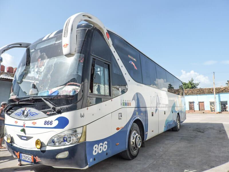 Viazul Bus Trinidad Cuba