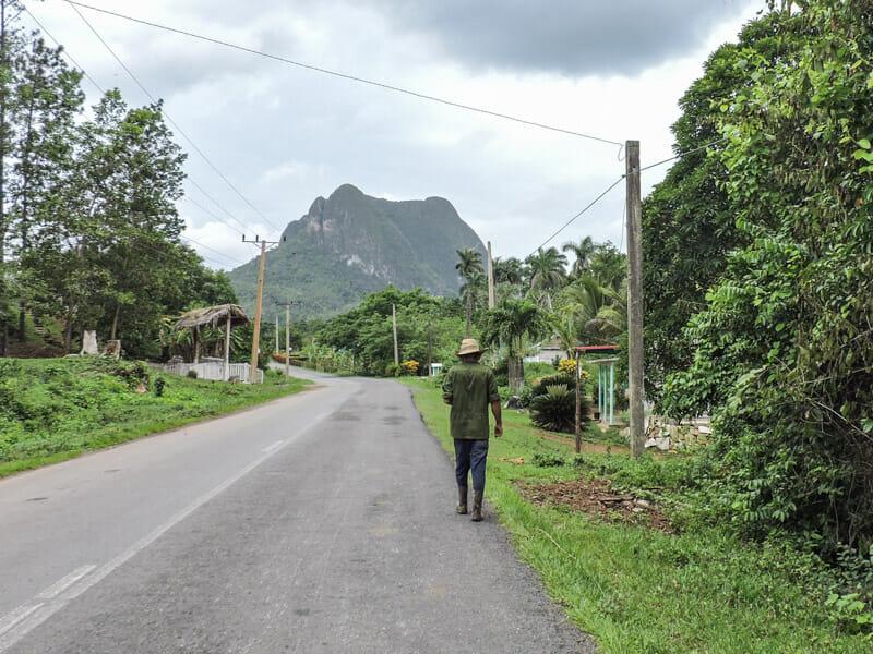 Vinales Farmer Cuba