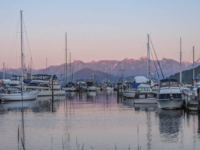 Marina Gibsons BC   Sunshine Coast
