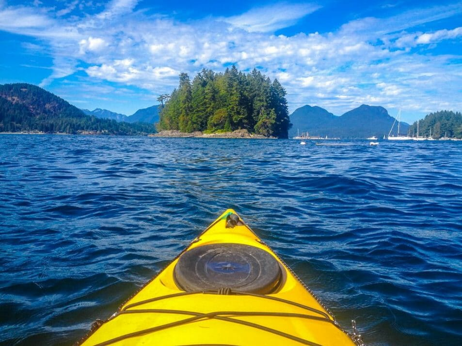 Kayaking Sunshine Coast British Columbia