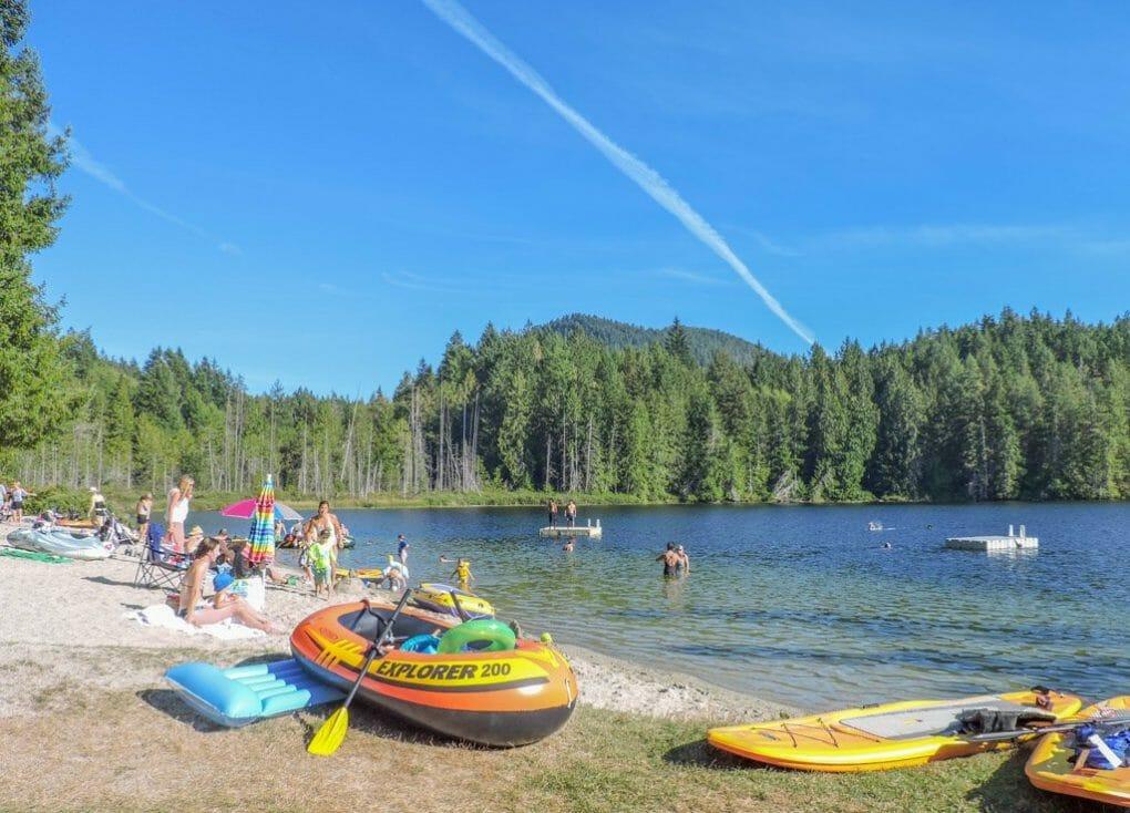 Katherine Lake | Sunshine Coast BC