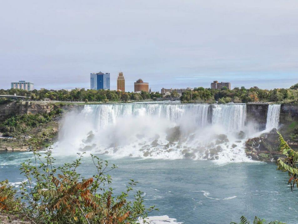 The American Falls and The Bridal Veil Falls I Wine and Waterfalls I Niagara Falls, Ontario