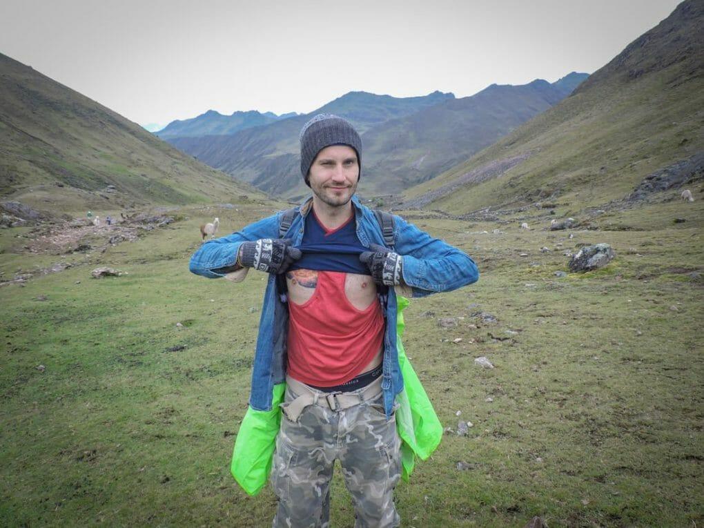 Lares trek to Machu Picchu packing list