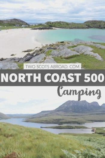 Scotland North Coast 500 Campsites