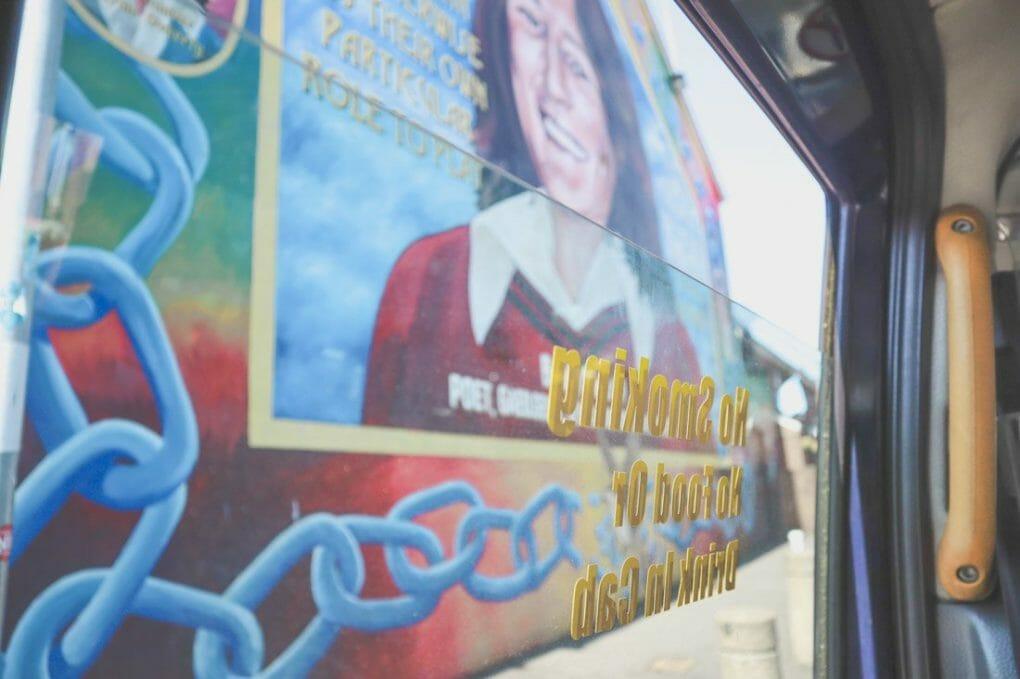 Bobby Sands Mural Belfast