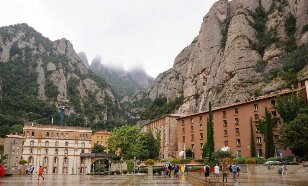 Barcelona day trips - Montserrat, Spain.