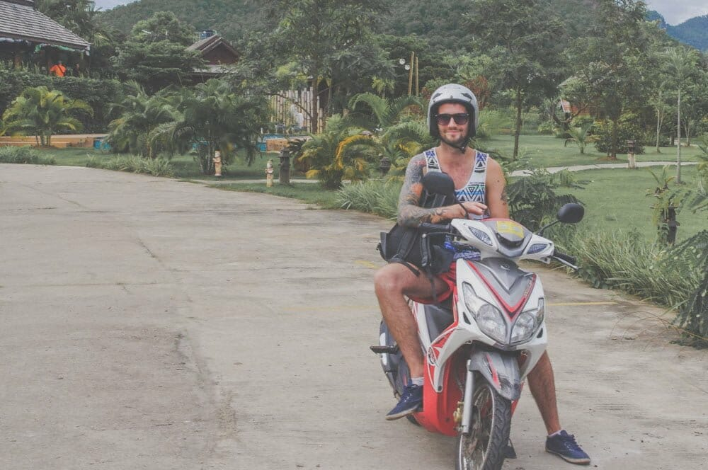 Scooter Rides Thailand