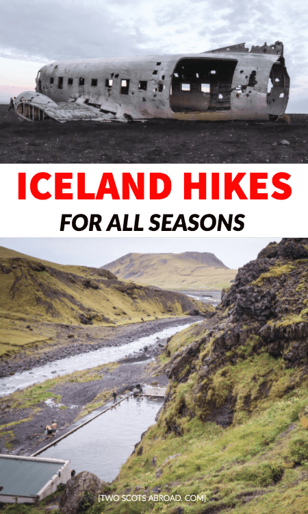 Iceland hikes, hiking in Iceland, Iceland hikes summer, Iceland hikes winter, National Parks, Iceland hiking trails, hot springs, ice caves, Iceland road trip, Iceland itinerary, Iceland travel tips, Iceland on a budget
