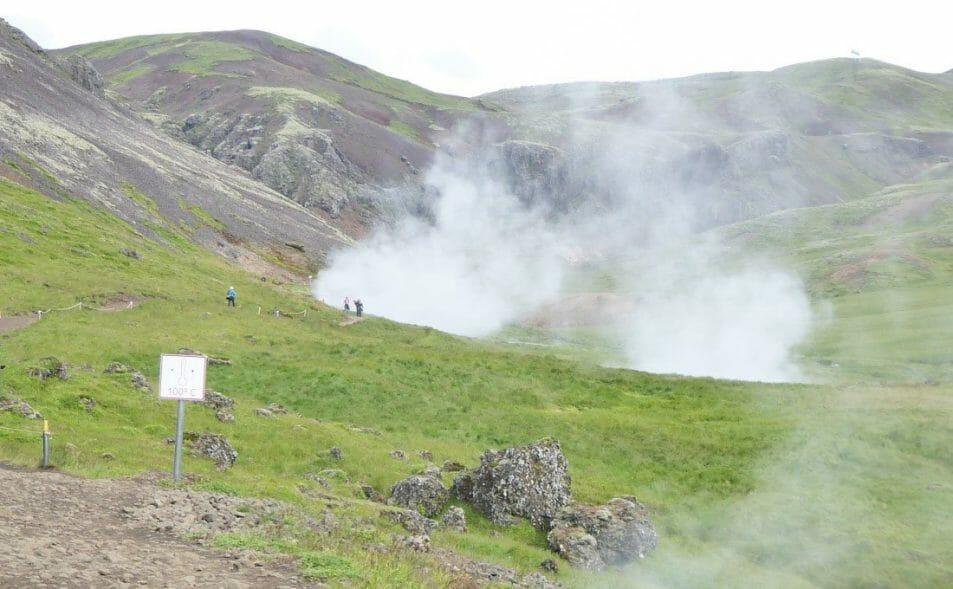 Reykjadalur Valley Hot River Hike Iceland